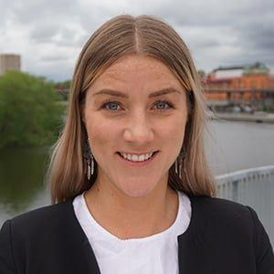 Vindex, Sara Johansson, Rekryterare